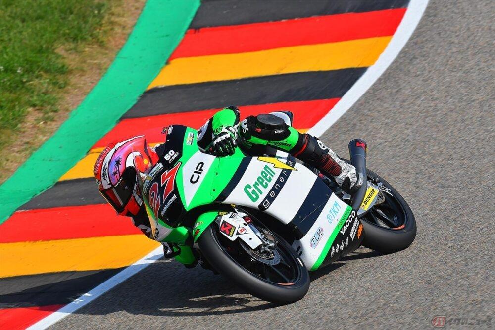 快挙!! 【MotoGP第8戦ドイツGP】Moto3クラス参戦の日本人ライダー鳥羽海渡選手が2位表彰台を獲得!