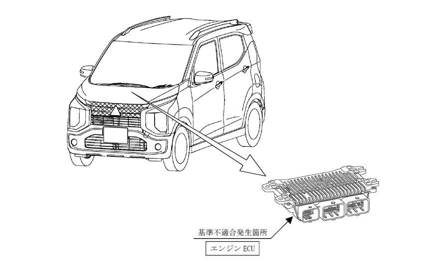 【リコール】30万台規模 三菱eKシリーズ、日産ルークスのエンジンECUに不具合