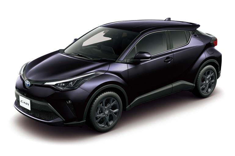 トヨタのコンパクトSUV「C-HR」にブラックを基調にしたクールな特別仕様車を設定