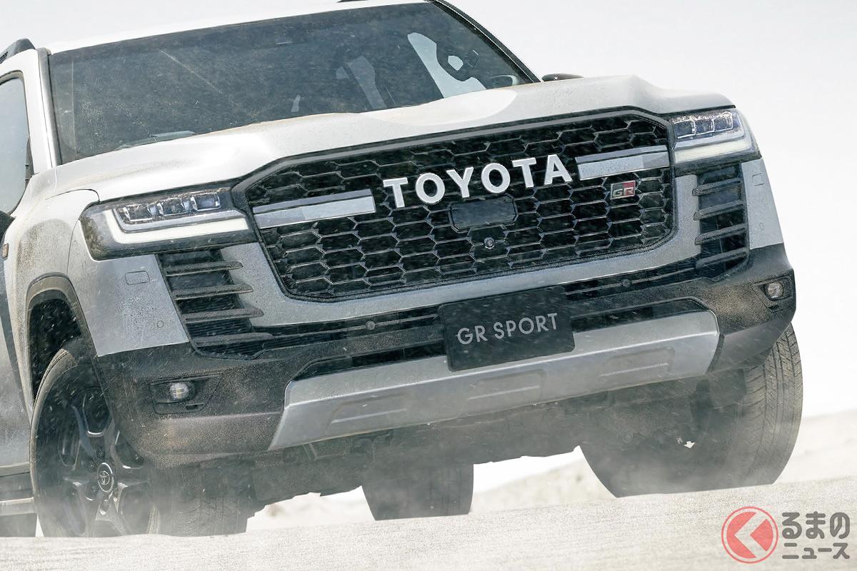 GR顔は飾りじゃない! トヨタ新型ランクル300発売! GRスポーツならではの魅力とは