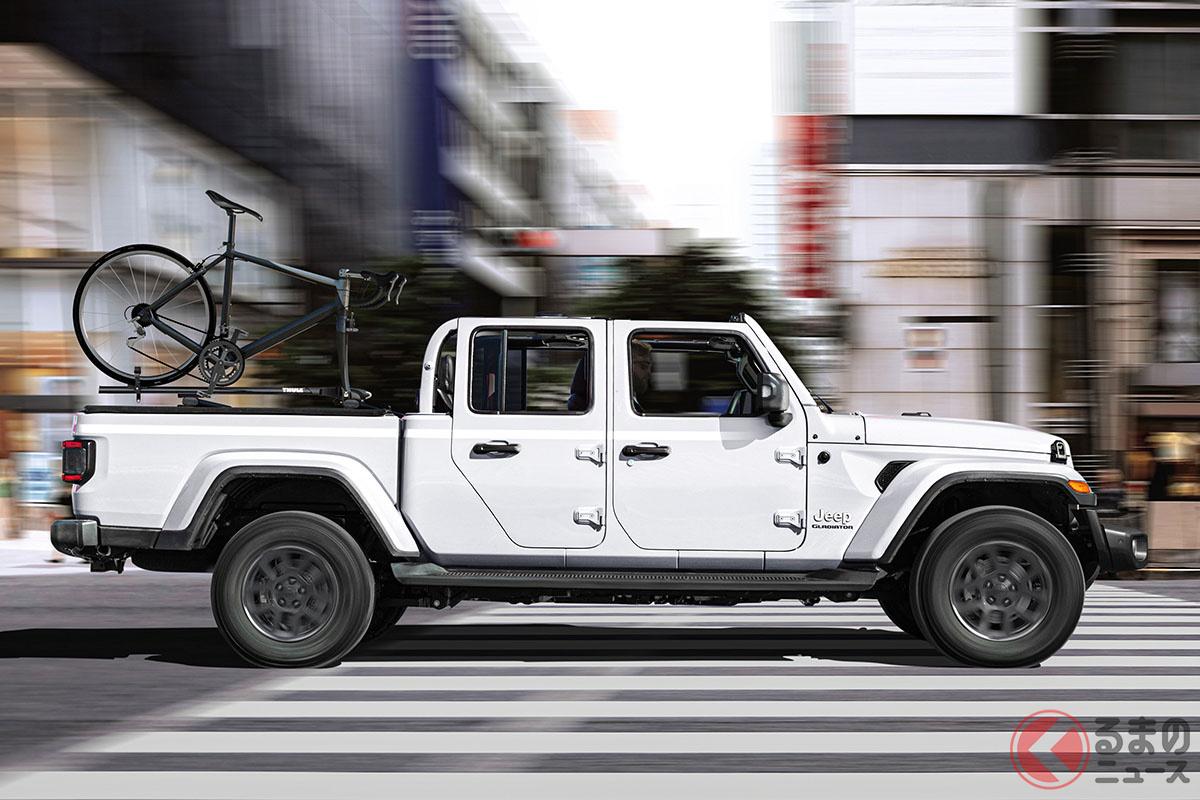 ジープ「グラディエーター」日本導入決定! 価格と装備を大胆予想