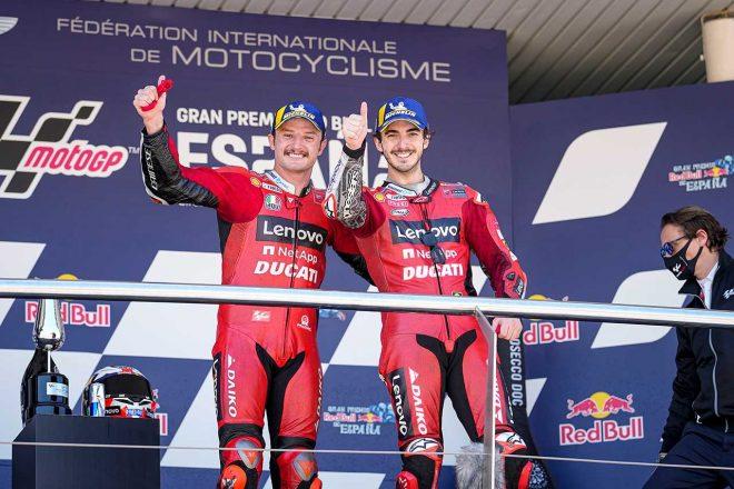 MotoGP第4戦スペインGP:ドゥカティのミラーが5年ぶりの優勝。中上は今季自己最上位フィニッシュ果たす