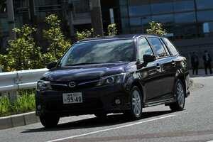 小回り効きます! 最小回転半径4.9m。トヨタ・カローラフィールダー160系前期(2012年5月~2015年3月)|中古車選びに役立つ「当時モノ」新車レビュー