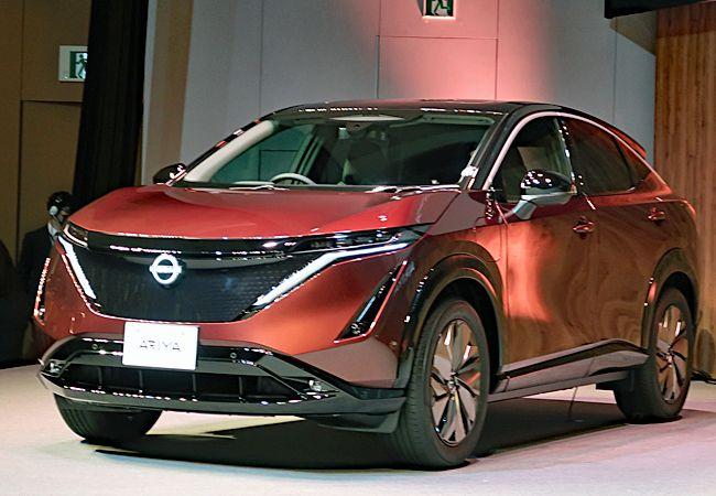 新型日産アリアの日本専用特別仕様車「日産アリアlimited」、国内の予約注文が10日間で約4000台と絶好調