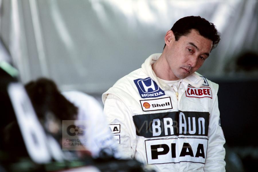 1991年のミカ・ハッキネン、中嶋悟、鈴木亜久里。F1が体力勝負だった時代【連載第4回:熱田護の勝手に片思い】