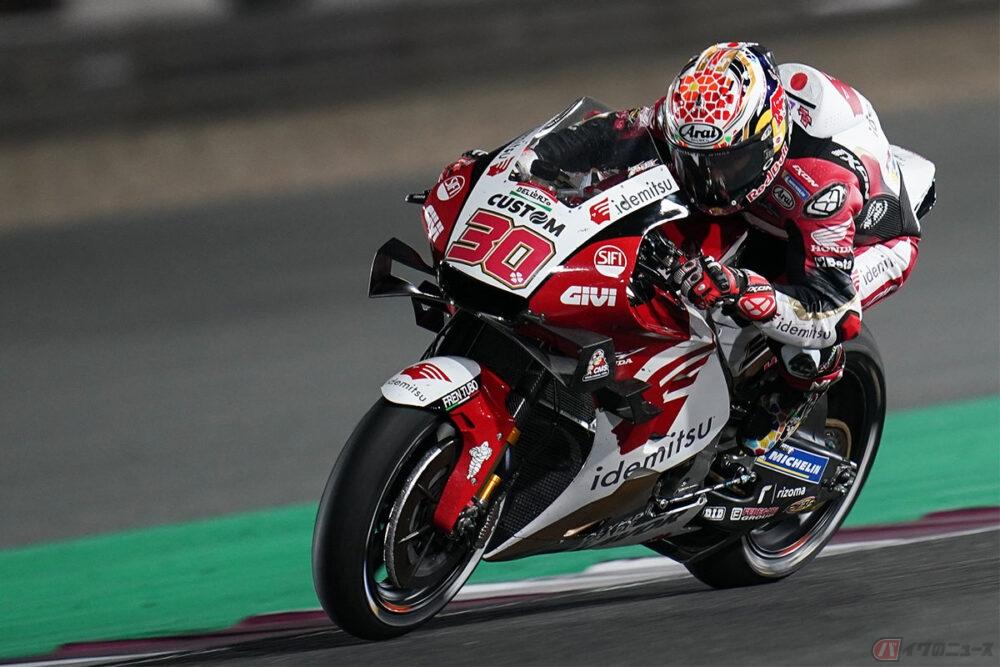 【MotoGP第2戦ドーハGP】世界戦に挑む日本人ライダー中上貴晶選手 苦渋の決断で17位フィニッシュ フロントタイヤのグリップ低下に苦しむ……