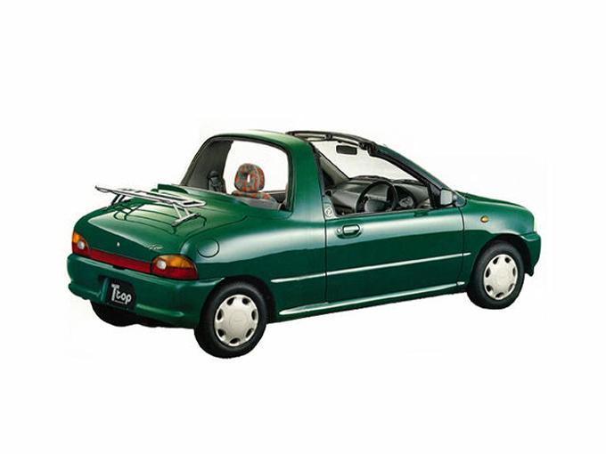 軽オープンなのに、タルガトップで4人乗れて独立トランク付き……!? 絶滅危惧車のスバル ヴィヴィオタルガトップは発想が斜め上すぎる
