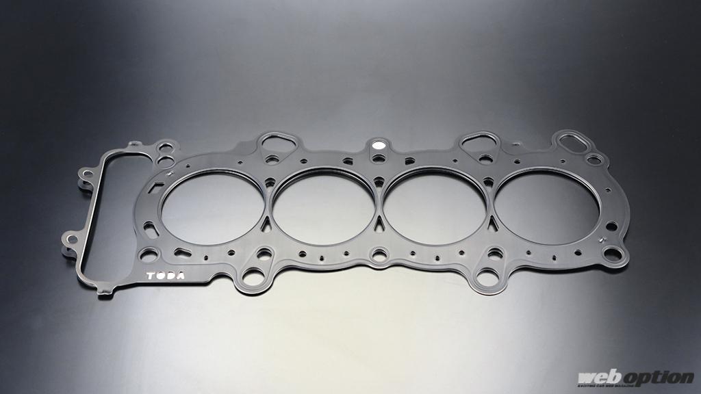 「オーバーホール検討中のS2000乗りは要チェック!」戸田レーシングからエンジンに優しいヘッドガスケットが登場