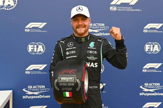 ボッタスが最速、メルセデスは最前列を独占。角田はトラックリミット違反で17番手【予選レポート/F1第14戦】