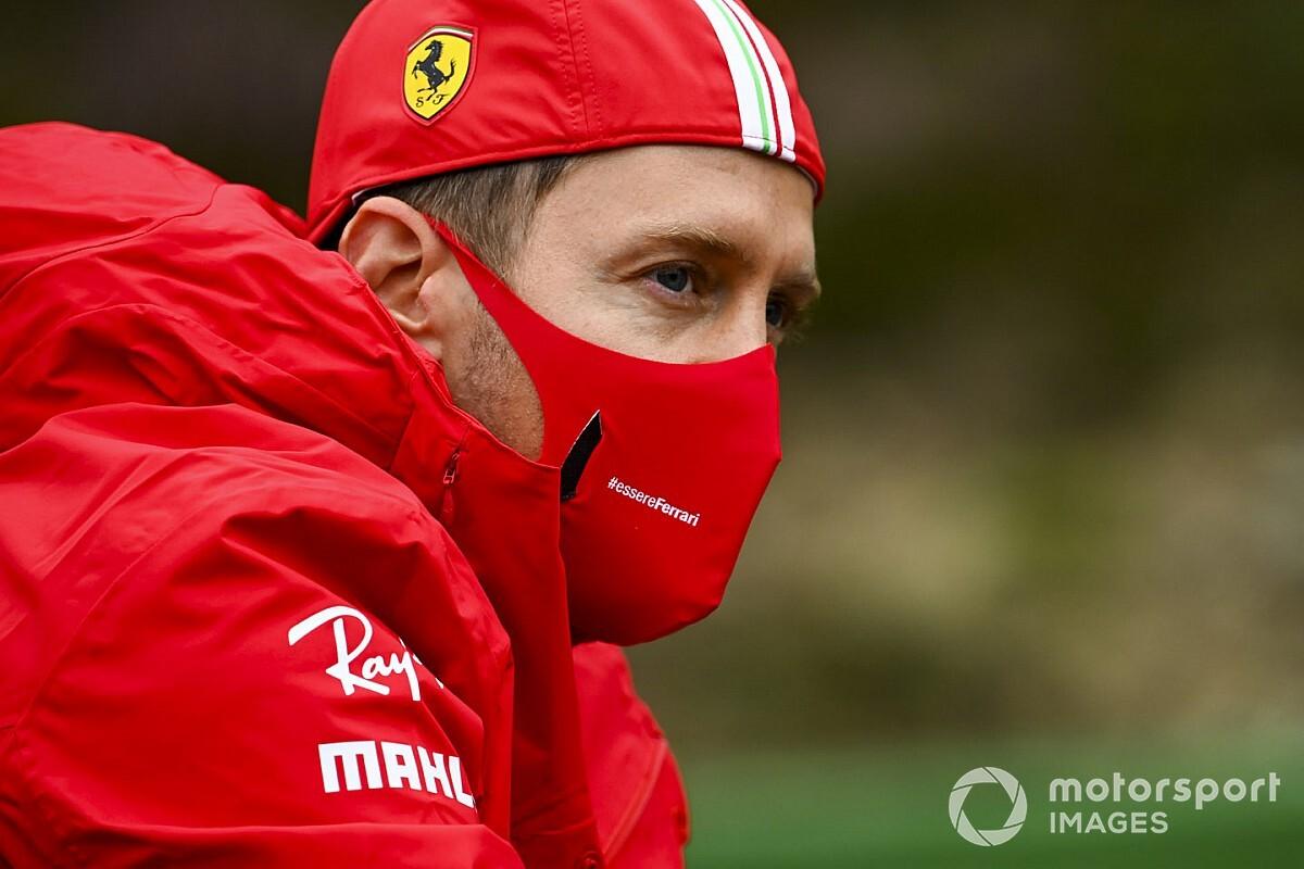 """セバスチャン・ベッテル、フェラーリ最終年で大苦戦も心は""""平穏""""?「周りの評判は気にしない」"""