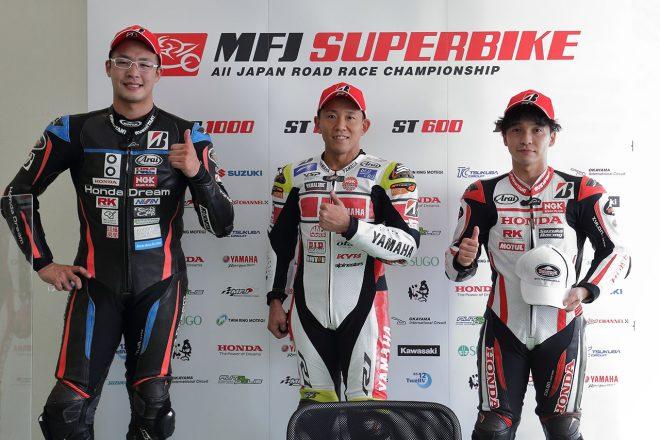 中須賀克行「プレッシャーもあったが優勝できた」/全日本ロード第7戦オートポリス JSB1000 レース1会見