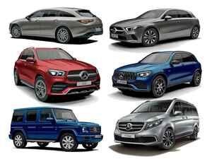 メルセデス・ベンツがFFモデルやSUV系モデルのメーカー希望小売価格を改定