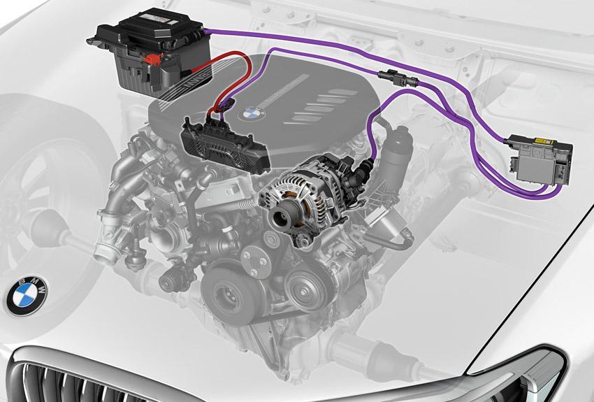 BMW「X5」「X6」「X7」のディーゼルに48Vマイルドハイブリッドを搭載