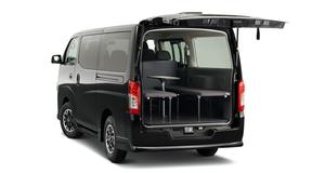 NV350キャラバンでやっちゃえ車中泊!「マルチベッド」を新設定、エンジンも一部改良