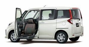 ダイハツ・トールの福祉車両「トール シートリフト」が新登場