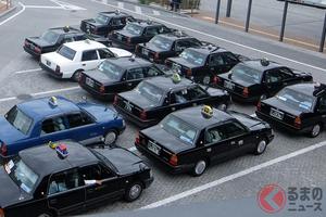 なぜ大阪は黒いタクシーが主流? カラフルだった東京のタクシーが濃紺に代わった訳