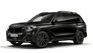 BMW X7に漆黒で統一した内外装を纏う特別限定モデルが登場