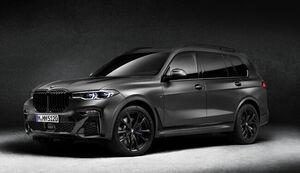 BMWのラグジュアリーSAVに漆黒のカラーリングを纏った7台限定モデルの「X7 Edition Dark Shadow」が登場