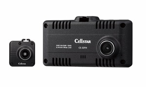 コンパクトで機能満載! セルスターが2カメラで前方・後方を高画質で記録するドライブレコーダー「CS-32FH」を発売