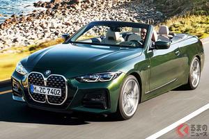 約18秒でオープンエア!BMW新型「4シリーズ カブリオレ」日本上陸