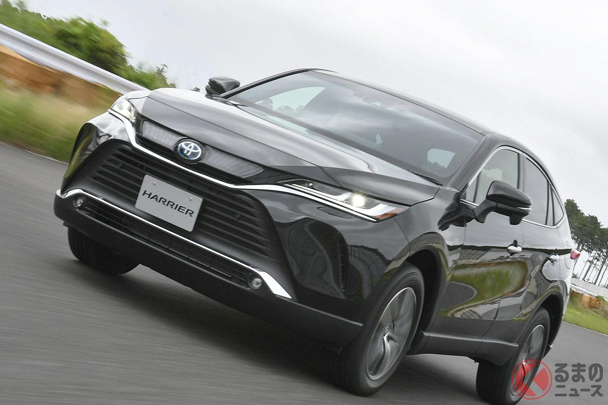 トヨタ高級SUVが売れる理由は何? デザイン・価格が理由? 「ハリアー」爆発的人気の裏側