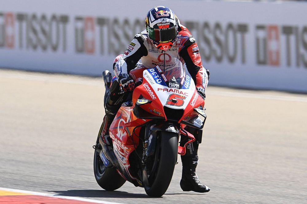 【MotoGP】ザルコ、ランキング2位も厳しいか? アラゴン17位と沈みライバルに差付けられる