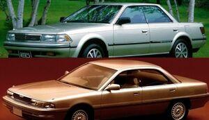 世界を驚かせた不朽の名4ドアHT車 カリーナEDとペルソナは今いくら?