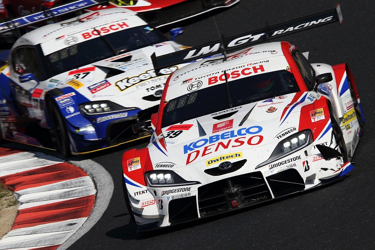 【スーパーGT】トップ3台についていけず……39号車SARDのコバライネン「リヤのダウンフォースが不足していた」 開幕戦岡山