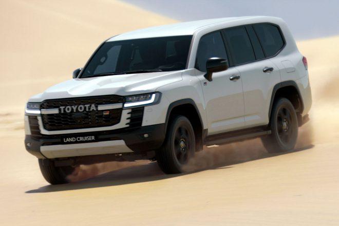 トヨタ車体、新型ランドクルーザーのダカールラリー投入を発表。2023年のデビューウイン目指す