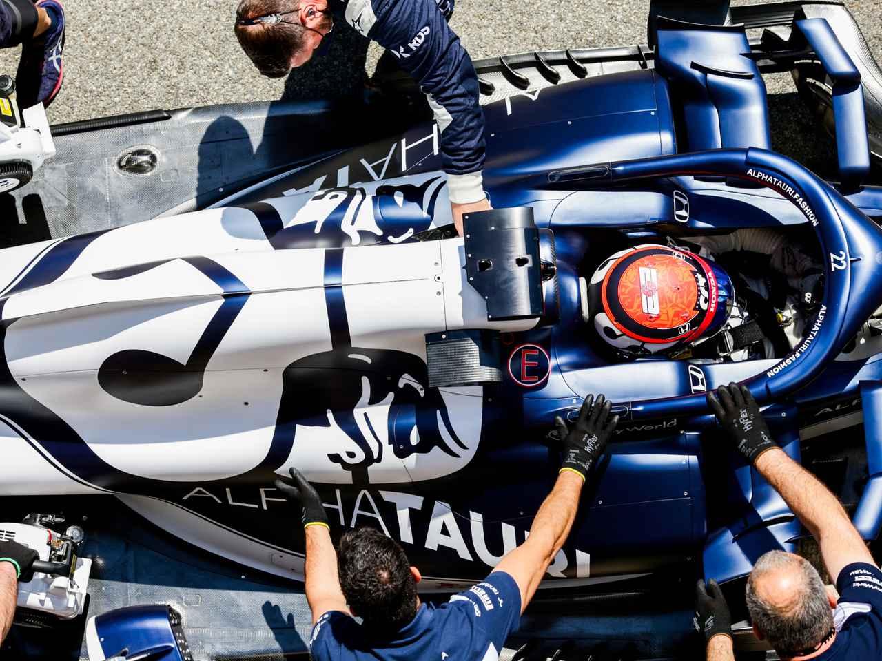 2021年F1第4戦スペインGP、角田はほんの小さなミスでQ1敗退、16番手スタートと試練が続く【モータースポーツ】