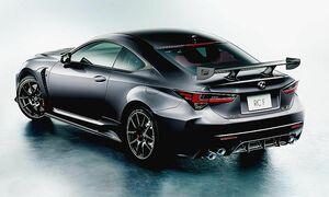トヨタ、レクサス「RC」をマイナーチェンジ 剛性アップやバネ下軽量化