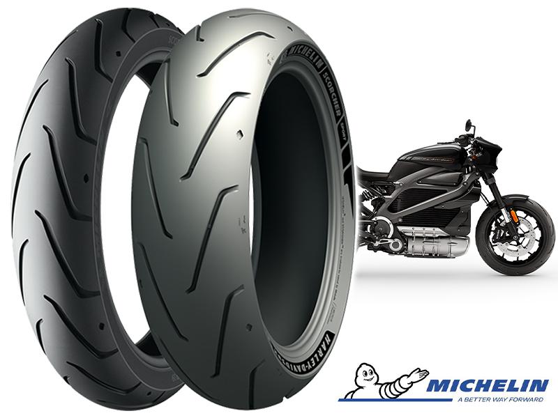 ミシュランの「MICHELIN Scorcher Sport」がハーレーの電動スポーツバイク「LiveWire(R)」の純正タイヤに採用