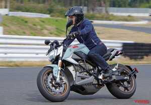 電動スポーツネイキッド「ゼロSR/F」試乗レポート【最高速200km/h!】