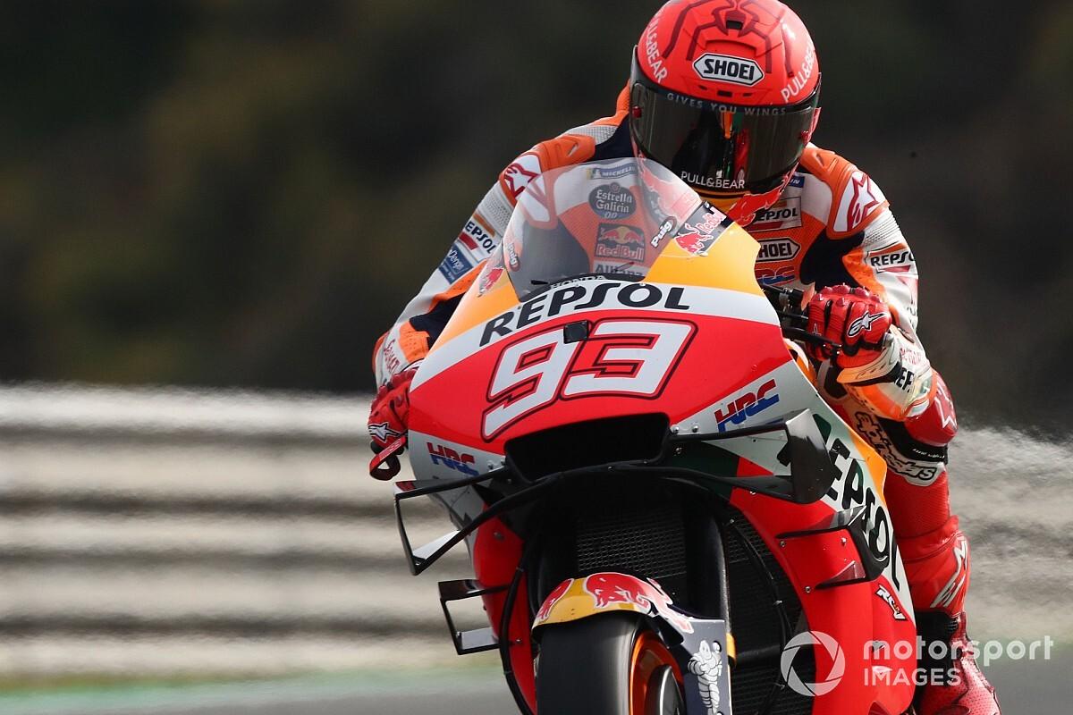 """【MotoGP】マルク・マルケス、""""大怪我""""負ったヘレスにもトラウマは無し。「1周目だけ堅実だったかも」 スペインGP"""