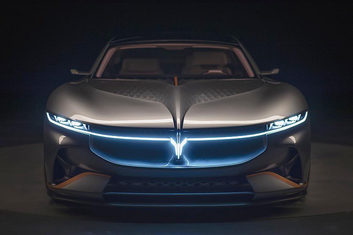 豊田合成のLED発光エンブレム、中国高級車ブランド「VOYAH」が採用