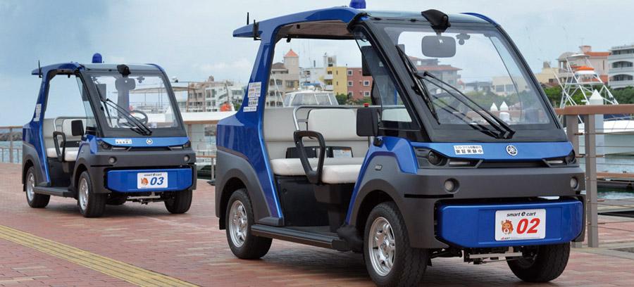 地域密着型自動運転車の運用が正式スタート