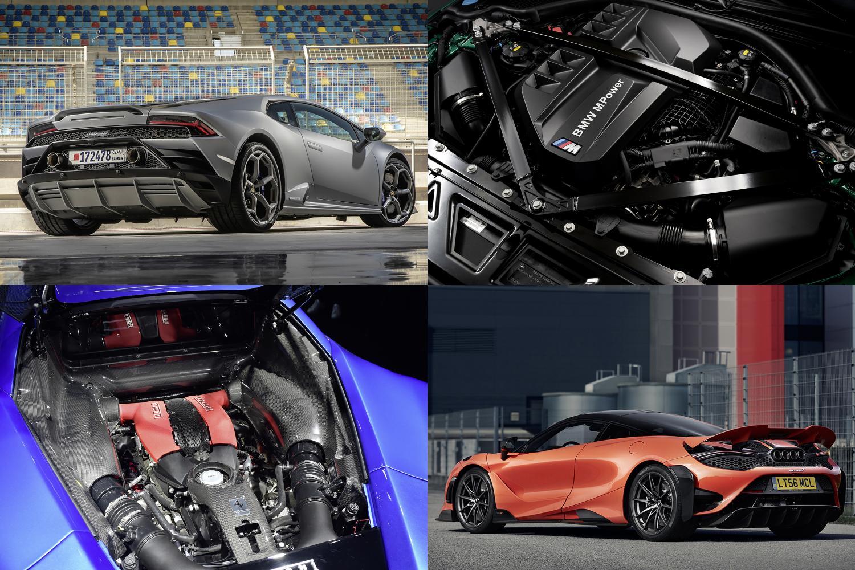 電動化時代に消えゆく可能性も! 3気筒から16気筒まで各レイアウトの市販車「最強エンジン」を決める