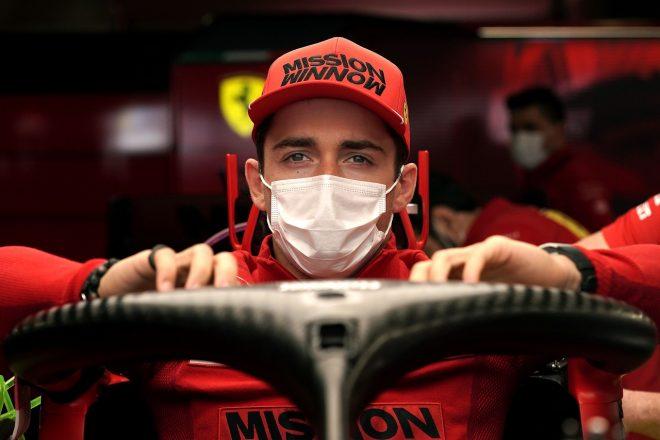ルクレール「トリッキーなコンディションで走るのは大好き。速さを感じた」フェラーリ/F1第3戦金曜