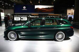BMW アルピナB3 ツーリング 登場! 462psを誇るステーションワゴンの魅力に迫る【フランクフルトショー2019】
