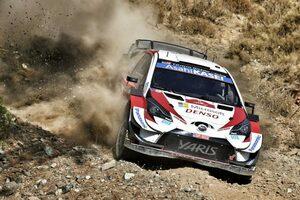 WRCトルコ:2日目を終えトヨタ・ヤリスWRC全車がトップ5圏内に「トラブルが本当に残念」とマキネン