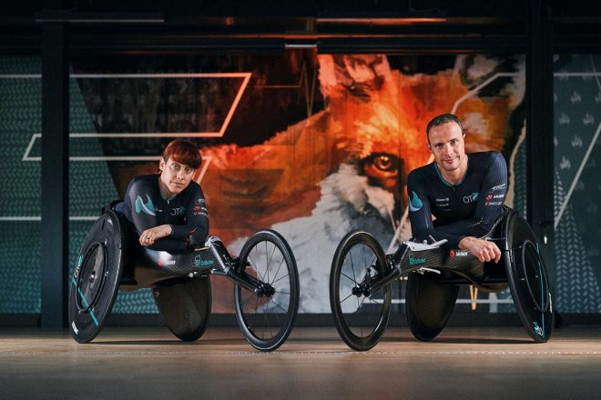 ザウバー、東京パラリンピックに出場するスイス選手のためにレーシングホイールチェアを開発