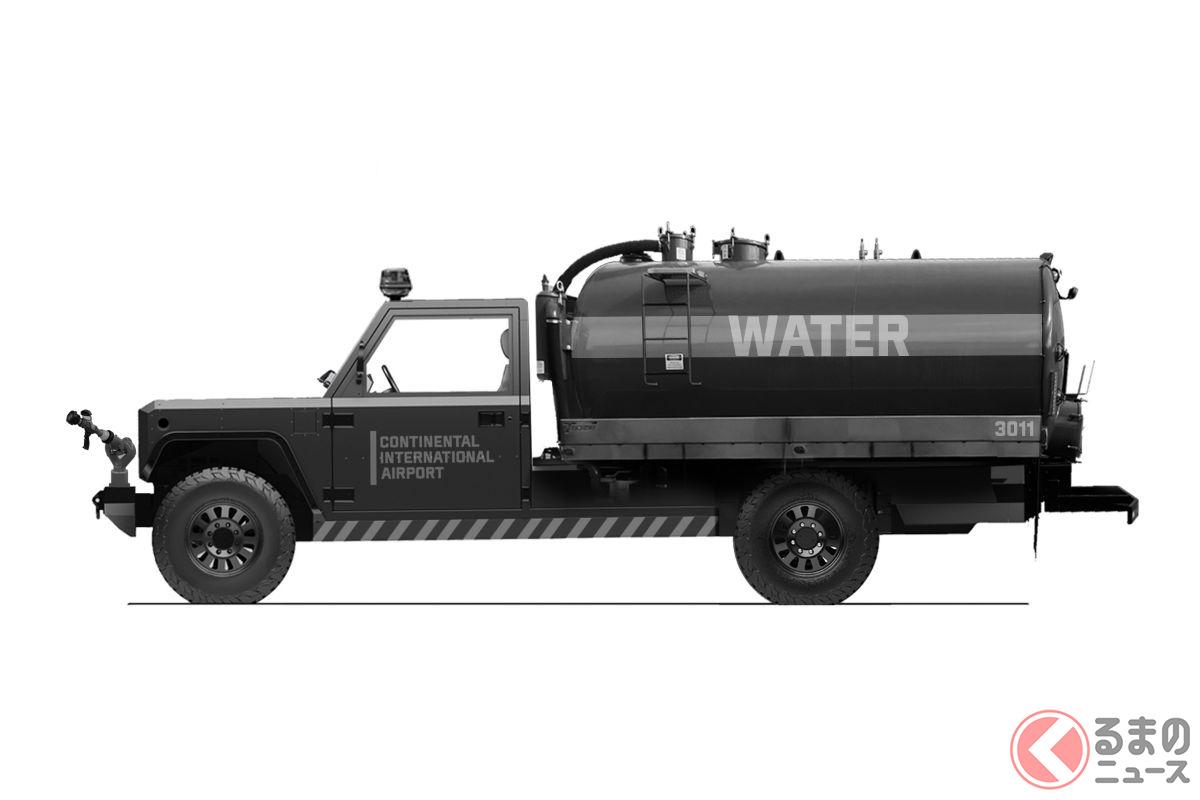 まるで装甲車! 全長5m超のゴツいモンスターマシン! 変化自在なボディのボリンジャーモーターズとは