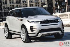 495万円から「レンジローバー・イヴォーク」2021年モデル発売開始。ドライバー支援システムを標準装備