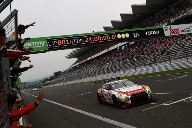スーパー耐久第3戦富士24時間:300号車との争いを制し1号車GTNET GT3 GT-RがSUPER TEC連覇を達成