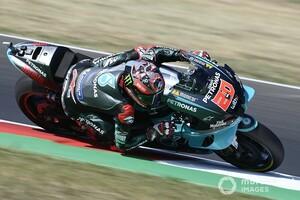 MotoGPエミリア・ロマーニャFP1:ペトロナス・ヤマハSRT絶好調ワンツー。中上貴晶は6番手発進