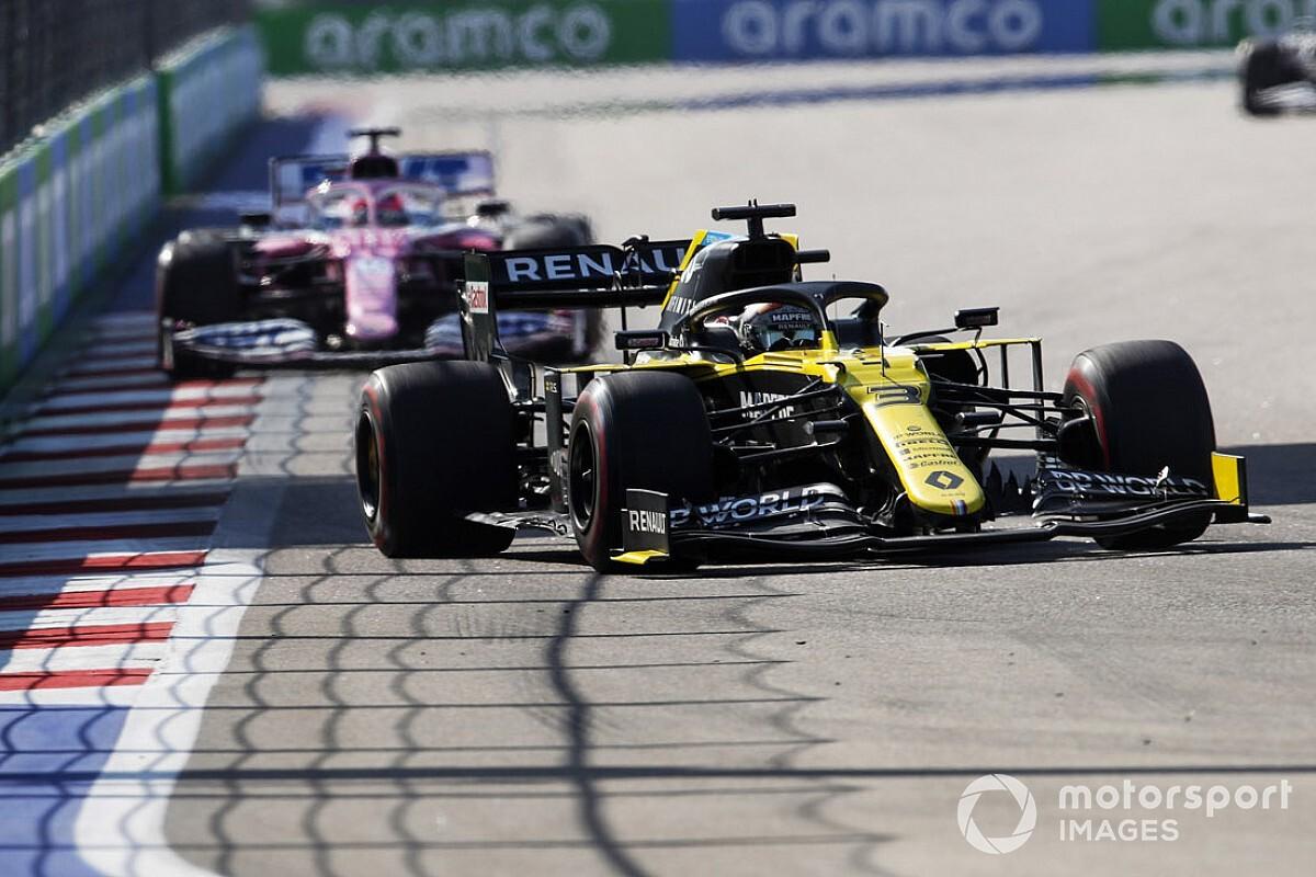 リカルド、激走でタイムペナルティ跳ね返す「アレで僕に火がついたんだ!」 F1ロシアGP