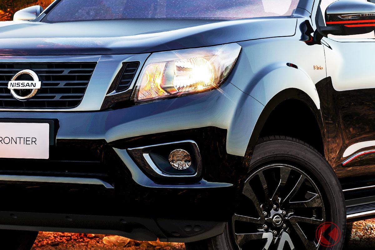 「黒×赤」がイカす日産新型4WD「フロンティア Xギア」発表! 500台限定 2021年10月にブラジルで発売へ