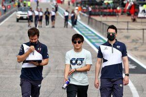 角田裕毅、初のCOTAへ「シミュレーターで準備。ジェットコースターのようなコースを走るのが楽しみ」/F1第17戦