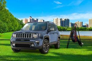 都会から大自然までマッチ! Jeepレネゲード限定車「スレートブルー」を100台限定で発売