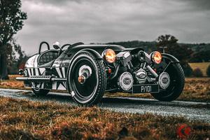 これぞ大人の三輪車! 33台限定モーガン「スリーホイーラー」とは?